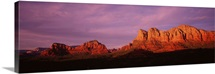 Arizona, Red Rocks Country, sunset