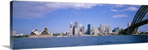 Australia, Sydney Harbor, skyline