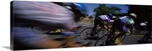 Bicycle race, San Rafael, Marin County, California,