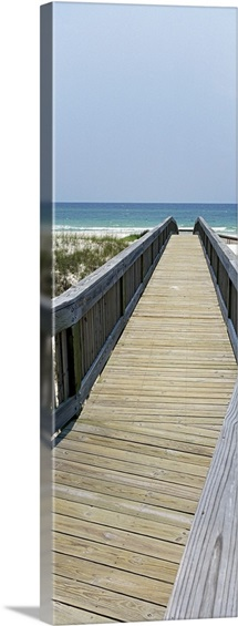 Boardwalk on the beach, Bon Secour National Wildlife Refuge, Bon Secour, Gulf Shores, Alabama