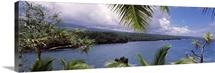 Botanical garden at the coast, Kahanu Garden, National Tropical Botanical Garden, Hana, Maui, Hawaii