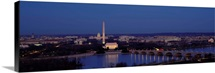 Bridge Over A River, Washington Monument, Washington DC, District Of Columbia