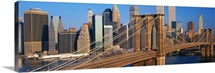 Brooklyn Bridge Manhattan New York NY