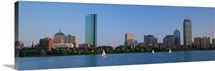 Buildings at the waterfront, Back Bay, Boston, Massachusetts