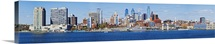 Buildings at the waterfront, Delaware River, Philadelphia, Philadelphia County, Pennsylvania