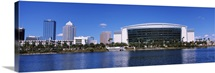 Buildings at the waterfront, St. Pete Times Forum, Tampa, Florida
