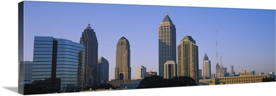 Buildings in a city, Atlanta, Georgia