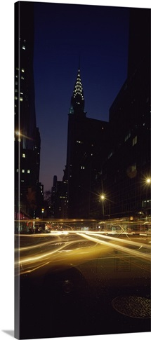 Buildings in a city, Chrysler Building, Manhattan, New York City, New York State,