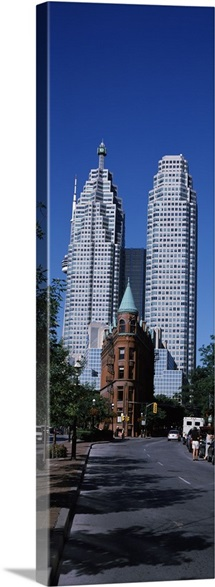 Buildings in a city, Flatiron Building, Toronto, Ontario, Canada