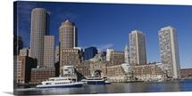 Buildings on the waterfront, Boston, Massachusetts