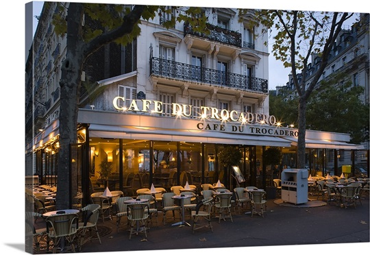Cafe Du Trocadero Paris Ile De France France Photo