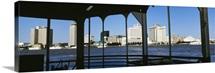 Canal Street Ferry Skyline New Orleans LA