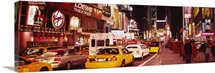 Cars on the road, Times Square, Manhattan, New York City, New York State