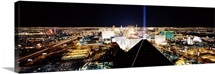 City from Mandalay Bay Resort and Casino, Las Vegas, Clark County, Nevada