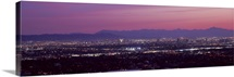 Cityscape at sunset Phoenix Maricopa County Arizona