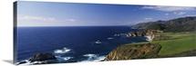 Cliffs on the coast, Big Sur, California