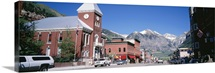 Colorado, Telluride, Main Street in Telluride