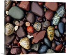 Detail of shoreline rocks, Lake Superior, Michigan