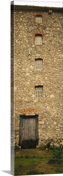 Door of a mill, Kells Priory, County Kilkenny, Republic Of Ireland