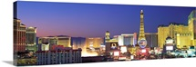 Dusk The Strip Las Vegas NV