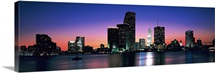 Evening Biscayne Bay Miami FL