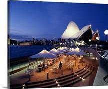 Evening Sydney Australia