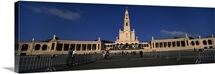 Facade of a church, Our Lady Of Fatima, Fatima, Portugal