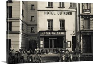 facade of a hotel hotel du nord canal saint martin