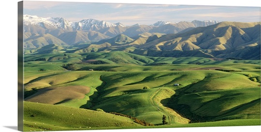 Farmland S Canterbury New Zealand