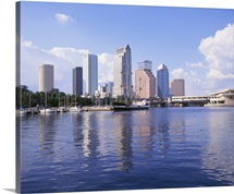 Florida, Tampa, Office buildings in Tampa