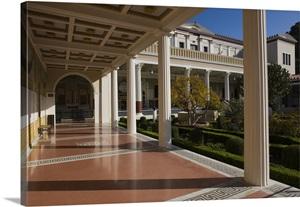 Garden Of Getty Villa Museum Pacific Palisades Los