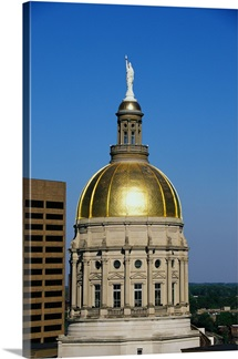 Georgia State Capitol Dome Atlanta GA