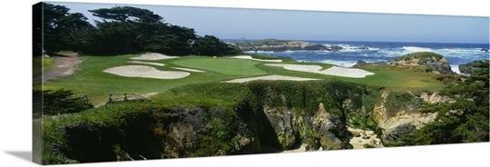 Golf course, Cypress Point Golf Course, Pebble Beach, California