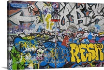 Grafitti on the U2 Wall, Windmill Lane, Dublin, Ireland