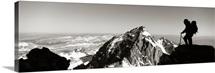 Hiker Grand Teton National Park WY