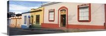 Houses along a street Merida Merida State Venezuela