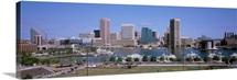 Inner Harbor Skyline Baltimore MD