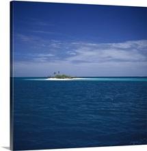 Island in the sea, Tuamotu Archipelago, French Polynesia