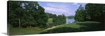 Lake on a golf course, Legend Course, Stillwaters Golf Club, Dadeville, Alabama