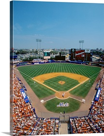 Mets Game at Shea Stadium