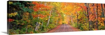 Michigan, Copper Harbor, road