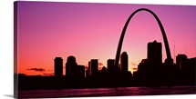 Missouri, St Louis, sunset