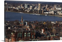 MIT, Charles River, Beacon Hill, Boston, Massachusetts