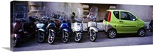 Motor Bikes Florence Italy