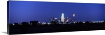 Night Skyline Dallas TX