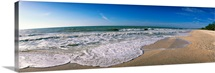 Ocean Waves on Beach Sanibel Island FL