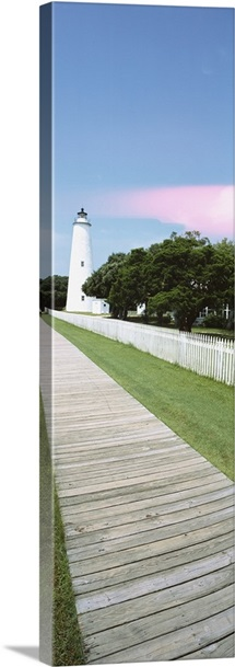 Ocracoke Lighthouse Outer Banks NC