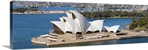 Opera house at the waterfront, Sydney Opera House, Sydney Harbor, Sydney, New South Wales, Australia