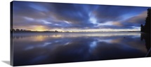Panoramic view of a river, Vuoksi River, Imatra, Finland