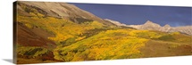 Panoramic view of mountains, Telluride, San Miguel County, Colorado